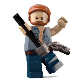 Karate Commando minifigure