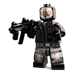 Ghost Soldier minifigure