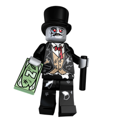 Lord Brainsworth minifigure