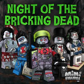 Night of the Bricking Dead Collection minifigure